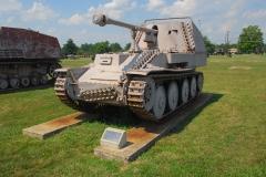 German Wespe 81/2 Field Gun