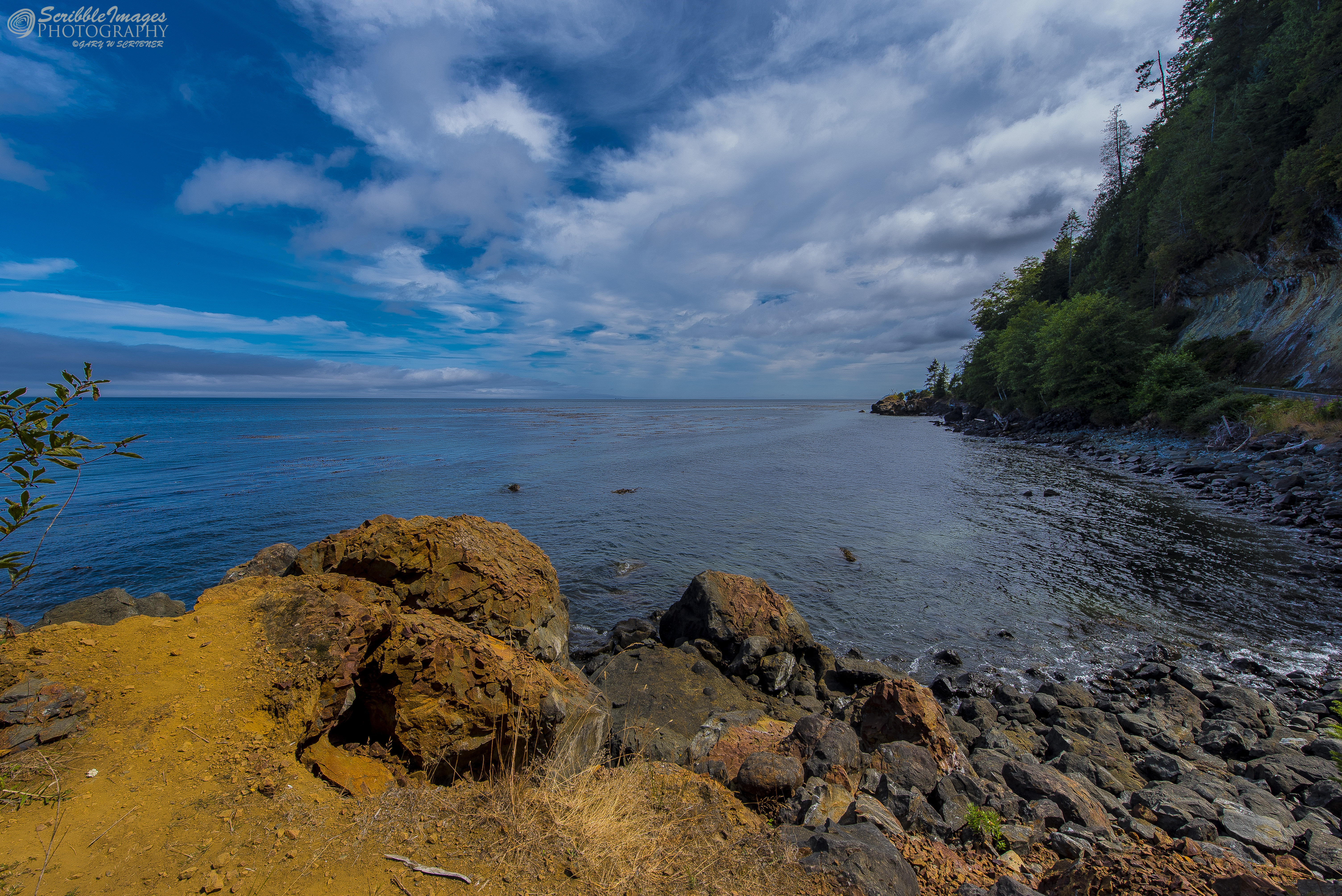 Bay on Route to Cape Flattery, Olympic Peninsula