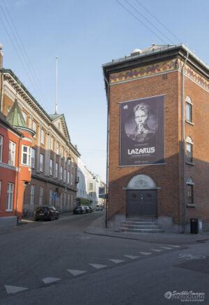 Billboard, Aarhus Theatre (Constructed in 1900)