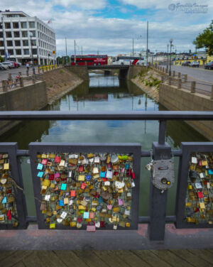 Love Locks, Bridge of Love, Helsinki