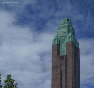 Clock Tower of the Helsinki Central Railway Station (1919)