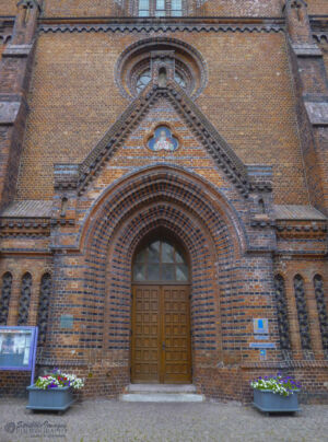Entrance to St. Nikolai Church, Kiel