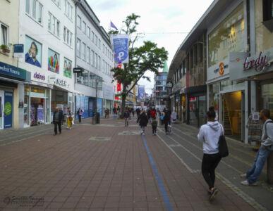 Kiel's Holstenstraße - Main Shopping Boulevard