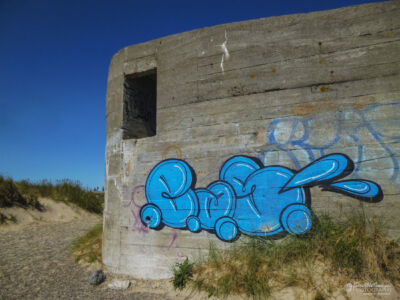 WW II Bunker + Graffitti