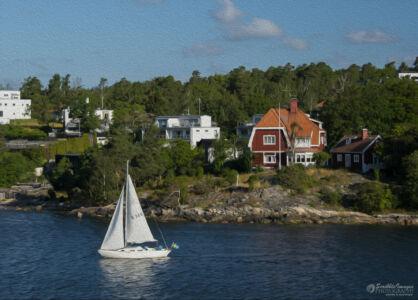 Postcard: Sailing the Stockholm Archipelago
