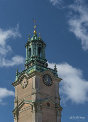 Storkyrkan Cathedral Clock Tower