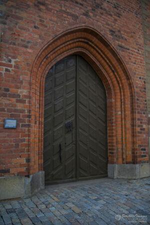 Entrance, Riddarholmen Church, resting place of the Swedish Monarchs