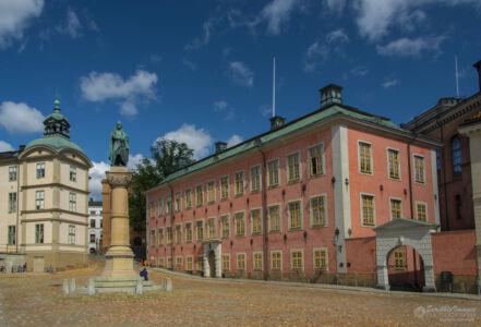 Statue of Birger Jarl, Founder of Stockholm, adjacent to Riddarholmen Church