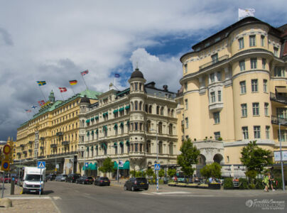 Grand Hôtel Stockholm, Södra Blasieholmshamnen