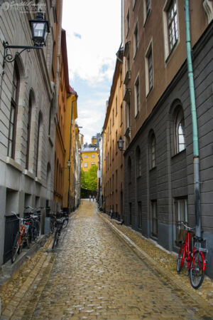 Bicycle Alley, Gamla Stan, Stockholm