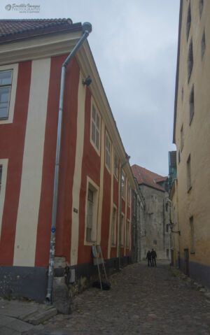 Tallinn backstreet - Aida and Lai Streets