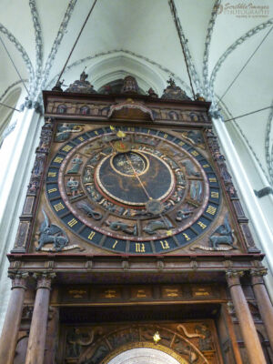Astronomical Clock @ Marienkirche (St. Mary's Church).