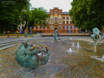 Rostock's 'Fountain of Joy""