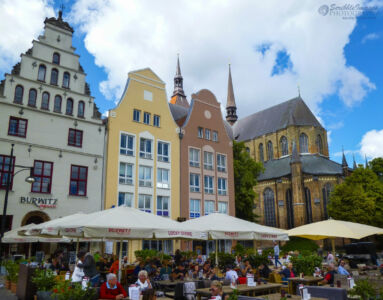 Main village square, Rostock