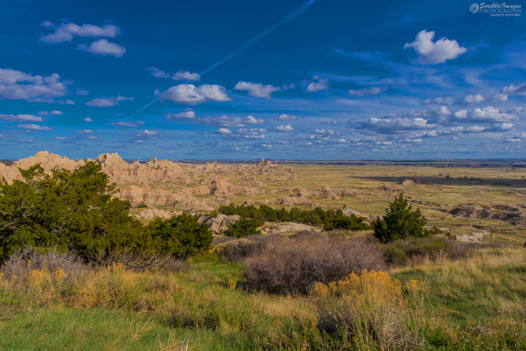 Grasslands Meet Badlands