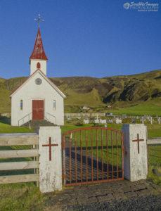 Reyniskirkja (Reynir) Church, near Vík in South Iceland
