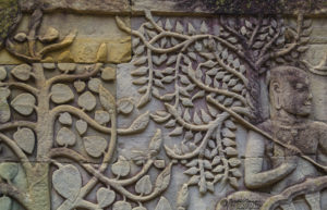 Angkor Wat - Floral Patterns