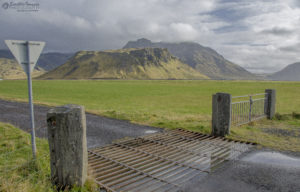 Cattle Grate, Route 1 - Ring Road, Southern Iceland
