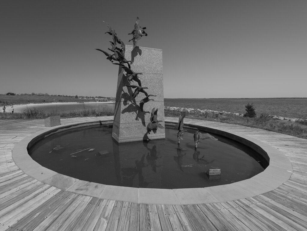 Waterfowl Sculpture at Sailwinds Park