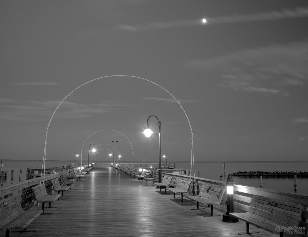 Arch in Moonlight