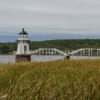 Doubling Point Light, Arrowsic Island, Maine