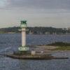 Friedrichsort Lighthouse, Bay of Kiel, Germany