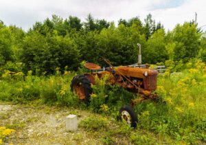 Well Worn Tractor